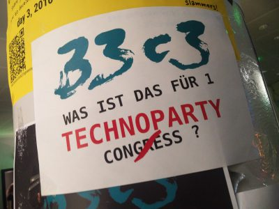 What kind of technoparty^W congres is this?
