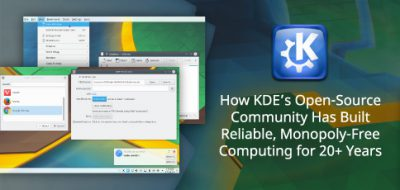 How KDE's Open Source community has built reliable, monopoly-free computing for 20+ years