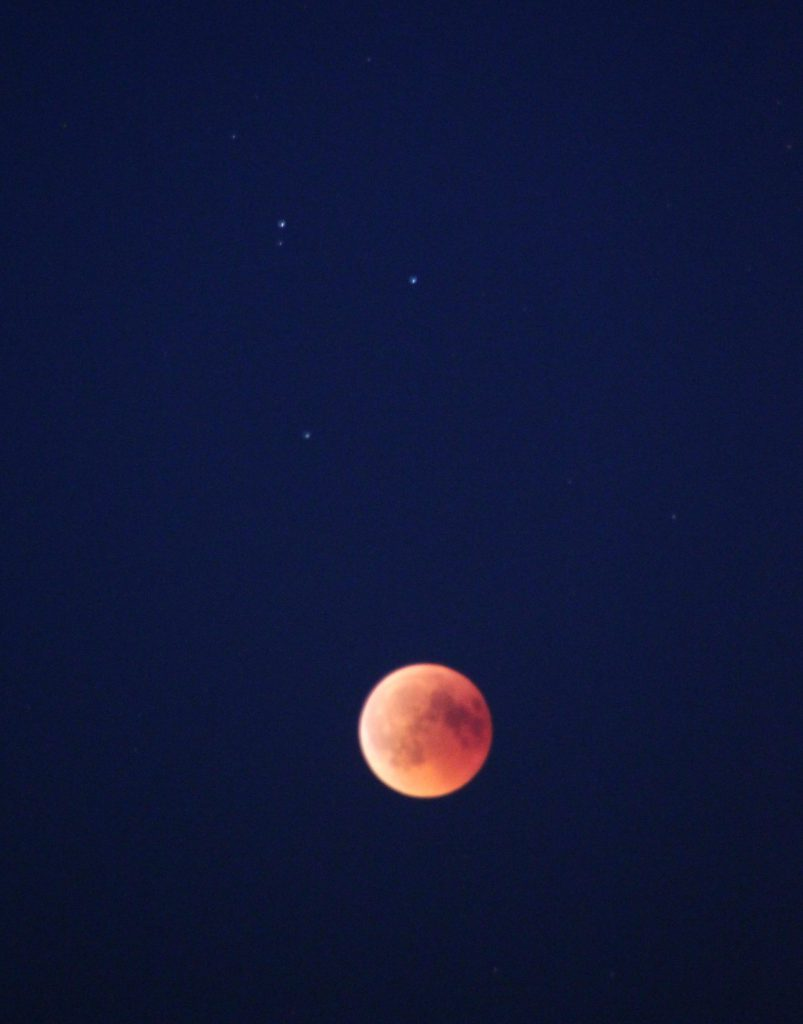 Blood Moon of July 2018