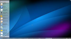 Desktop Workspace with Widgets Explorer